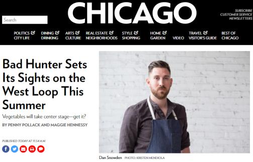 Bad Hunter 2 - Chicago Magazine