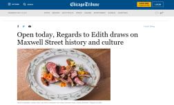 Regards to Edith - Chicago Tribune